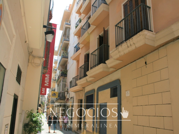 venta piso hostal hostel proyecto centro histórico malaga casco antiguo