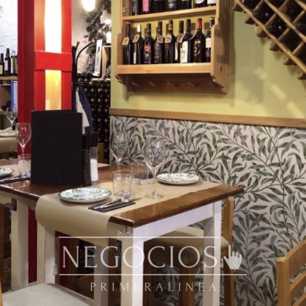 traspaso malaga centro histórico restaurante